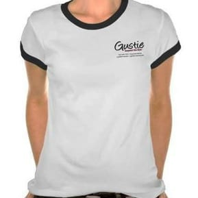 Gustie Women's T-shirt, Create Disruptive Retail, Gustie Creative