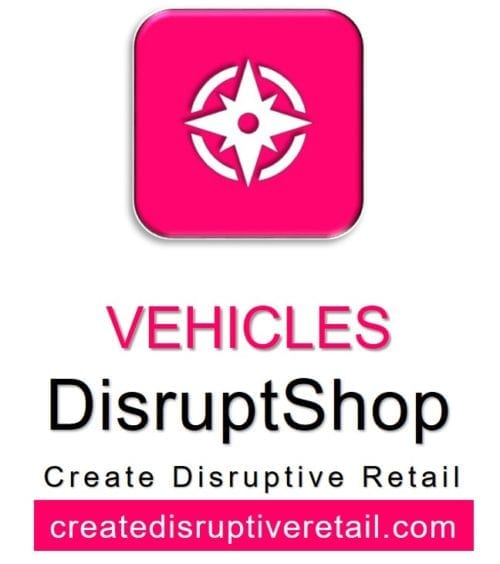 CDR DisruptShop Vehicles Gustie Creative LLC