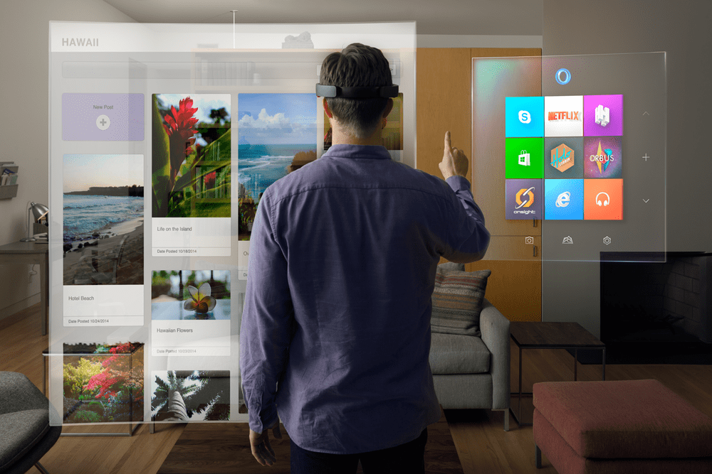 Microsoft HoloLens, MR, Mixed Reality