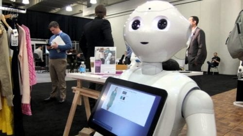 Pepper, SoftBank Humanoid Retail Robot