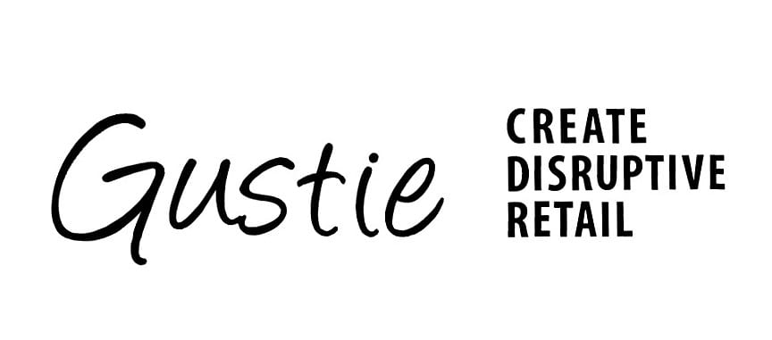Gustie l Create Disruptive Retail Logos, all rights reserved