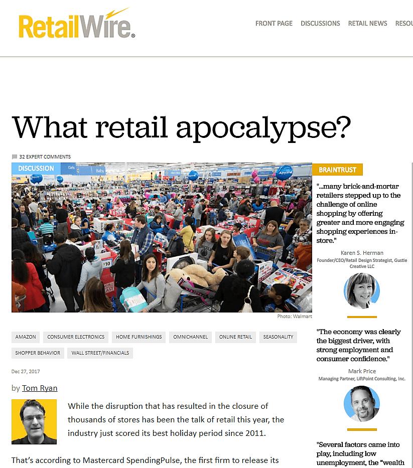 RetailWire What Retail Apocalypse 122717