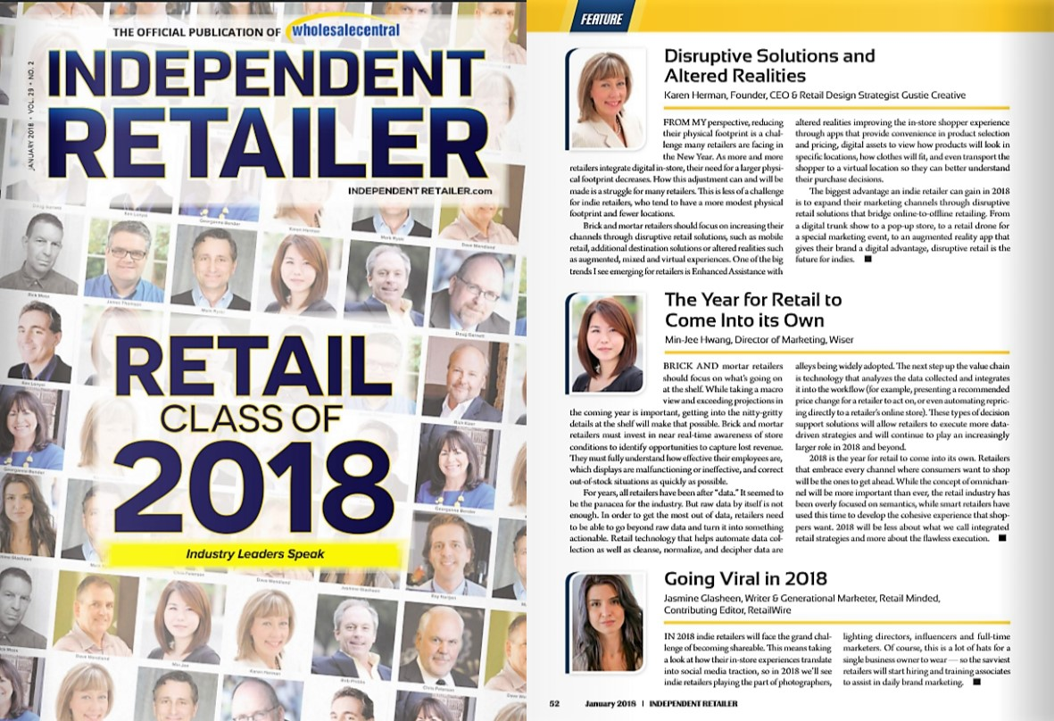 Karen Herman, Independent Retailer, Jan 2018