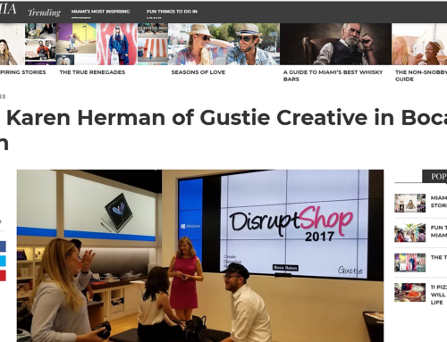 Gustie Creative in VoyageMIA Jan 2018