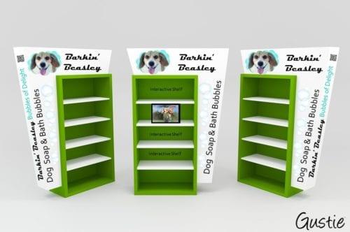 Barkin Beasley POP Display Concept by Gustie Creative LLC