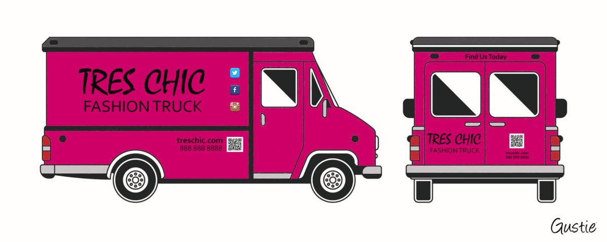 Create Disruptive Retail, FA Fashion Truck, Gustie Creative LLC