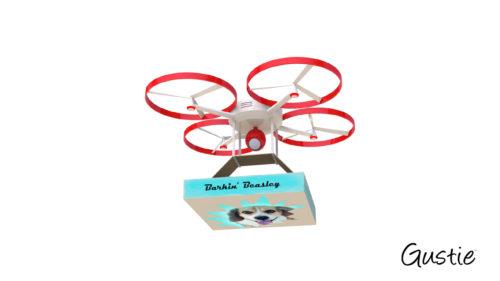 Create Disruptive Retail, RD, Retail Drone, Gustie Creative LLC