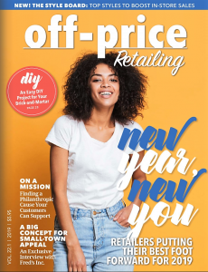 Gustie Creative Interview in Off-Price Retailing Jan 2019