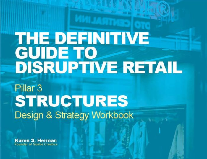 The Definitive Guide to Disruptive Retail Structures Workbook 2019